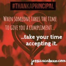 Etiquette for Principals. #ThankAPrincipal